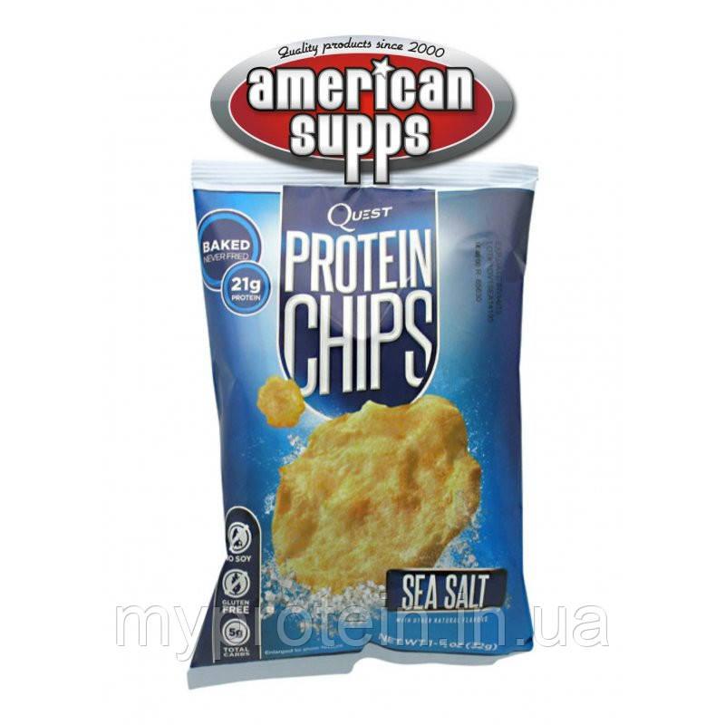 Протеиновые чипсы Protein Chips (1*32 g )