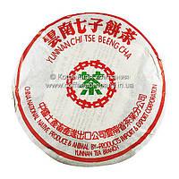 Чай Пуэр Шу Лао CNNP 2005 года прессованный 357г