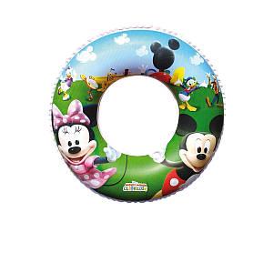 Надувной круг Bestway 91004 «Микки Маус», 56 см, (Оригинал)