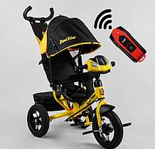 Велосипед 3-х колесный 3390 /38-304  Best Trike (надувные колеса  фара С USB