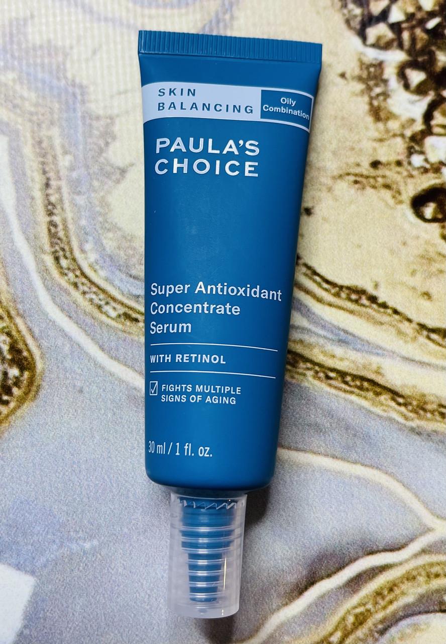Відновлююча антиоксидантна сироватка для обличчя Paula's Choice Super Antioxidant Concentrate Serum