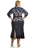 Костюм юбка на резинки,размеры 48-62,модель ДК 675, фото 4