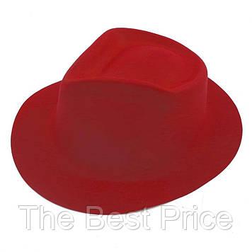 Капелюх Чоловіча флок (червона)
