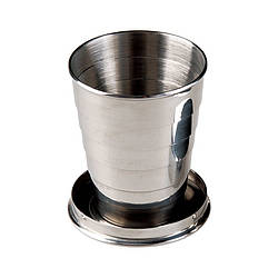 Стакан AceCamp SS Collapsible Cup 150 ml Steel