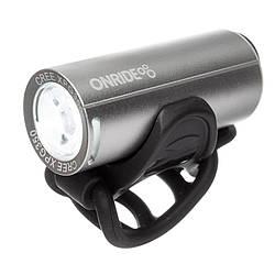 Передній ліхтар ONRIDE Cub USB 200 Lm Сріблястий