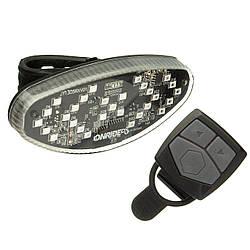 Задній ліхтар ONRIDE Wink USB з покажчиками повороту Чорний