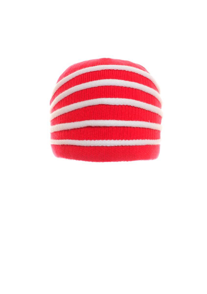 Молодіжна тепла стильна шапка з бантом.