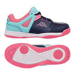 Підліткові кросівки Kappa Decerto Kid 38 Navy-Turquoise