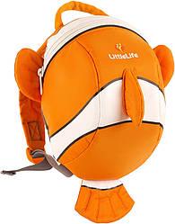 Рюкзак детский Little Life Animal Toddler 2L clownfish