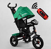Велосипед 3-х колесный 3390 /59-833 Best Trike (надувные колеса  фара С USB