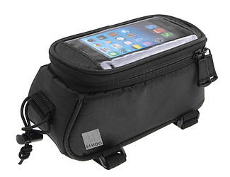 Велосипедна Сумка під смартфон Sahoo T12496L-CA5-SA 1,5 L Чорний