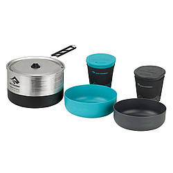 Набір посуд Sea To Summit Sigma Cookset 2.1 Pacific Blue/Silver