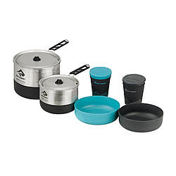 Набір посуд Sea To Summit Sigma Cookset 2.2 Pacific Blue/Silver