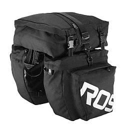 Велосипедна Сумка на багажник Roswheel 14892-A-1 37L Чорний