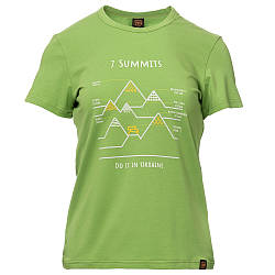 Футболка жіноча Turbat 7 Summits Wmn M Light Green