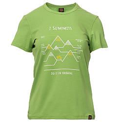 Футболка жіноча Turbat 7 Summits Wmn S Green Light