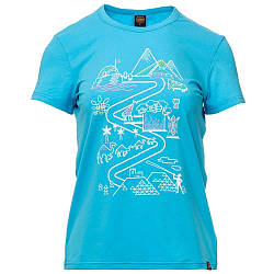 Футболка жіноча Turbat Journey Wmn L Blue