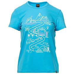 Футболка жіноча Turbat Journey Wmn M Blue