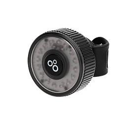 Задній ліхтар ONRIDE Donut 10 USB 10 Lm Чорний