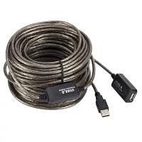 15м USB 2.0 активний подовжувач репітер, кабель. шнур, фото 1
