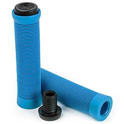 Ручки руля для самокатов Slamm Pro Bar Grips blue