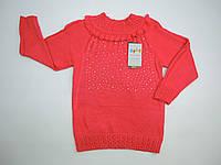 Кофта вязанная для девочки( 2-4)  года