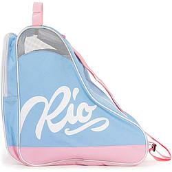 Сумка для роликов Rio Roller Script Skate blue-pink