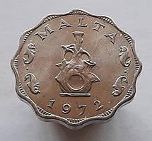 Мальта 5 мілс 1972