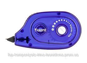 Коректор стрічковий AXENT 5мм * 6м, синій (12шт/уп)
