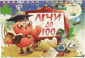Считай до 100, Тетрада