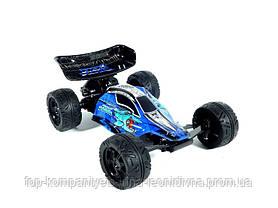 Машина міні гонка QI FAN TOYS радіокерована на акумуляторах USB зарядка синій (К828Ф)