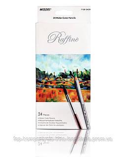 Набір кольорових олівців MARCO Raffine акварельні 24 кольору (7120-24)