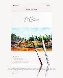 Набір кольорових олівців MARCO Raffine акварельні 36 кольорів (7120-36)