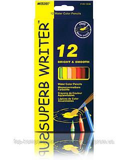 Набір кольорових олівців MARCO Superb Writer акварельні 12 кольорів (4120-12)