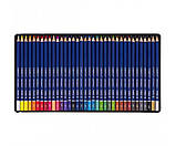 Набір кольорових олівців MARCO Chroma Super Premium в металевому пеналі 36 кольорів (8010-36TN), фото 2