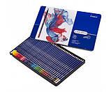 Набір кольорових олівців MARCO Chroma Super Premium в металевому пеналі 36 кольорів (8010-36TN), фото 3