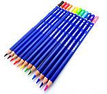 Набір кольорових олівців MARCO Chroma Super Premium в металевому пеналі 36 кольорів (8010-36TN), фото 6