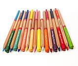 Набор цветных карандашей MARCO FineArt в металлическом пенале кедр 24 цвета (FineArt-24TN), фото 5