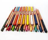 Набір кольорових олівців MARCO FineArt в металевому пеналі кедр 36 кольорів (FineArt-36TN), фото 2
