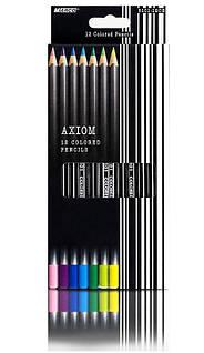 Набір кольорових олівців MARCO Axiom 12 кольорів (8101-12)