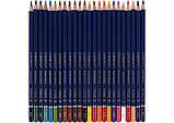 Набір кольорових олівців MARCO Chroma Super Premium 24 кольору шестигранні (8010-24), фото 2