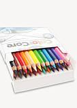 Набор цветных карандашей MARCO Color Core 24 цвета (3100-24), фото 3