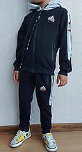 Спортивний костюм дитячий ADiDAS з лампасом школа хлопчик 4-8 років, купити оптом зі складу 7км Одеса