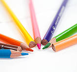 Набір кольорових олівців MARCO Smoothies суперм'які тригранні 12 кольорів (2150-12), фото 3