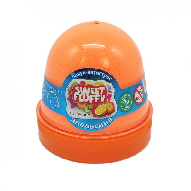 "Лизун-антистрес ""Mr.Boo"" Sweet fluffy Апельсин 120мл 80070"