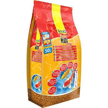 Сухой гранулированный корм для декоративных карпов Кои  Tetra POND KOI ST. 50L/7,5kg