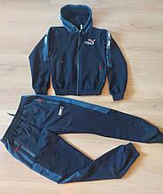 Спортивний костюм підліток PUMA replik шкільний з лампасом хлопчик 7-12 років, купити оптом зі складу 7км Одеса