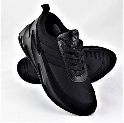 Кросівки Adidas $harks Жіночі Адідас Чорні Акули (розміри: 37,38,39,40,41) Відео Огляд, фото 3