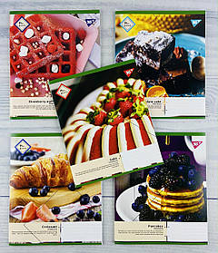Зошит 48 аркушів в клітинку Pancakes -21 765028 31076Ф 1 вересня Україна