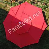 Зонт торговий пляжний червоний 2,4 метри, фото 4